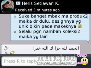 Testimoni Travel Bag Maika