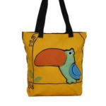 Tas-Maika-Etnik-Baby Bird Yellow