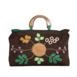 Tas-Maika-Etnik-Flower Buttercup Brown