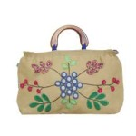 Tas-Maika-Etnik-Flower Buttercup Cream