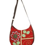 Tas-Maika-Etnik-Flower Tune Red