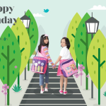 Tas Anak Konoka Happy Sunday