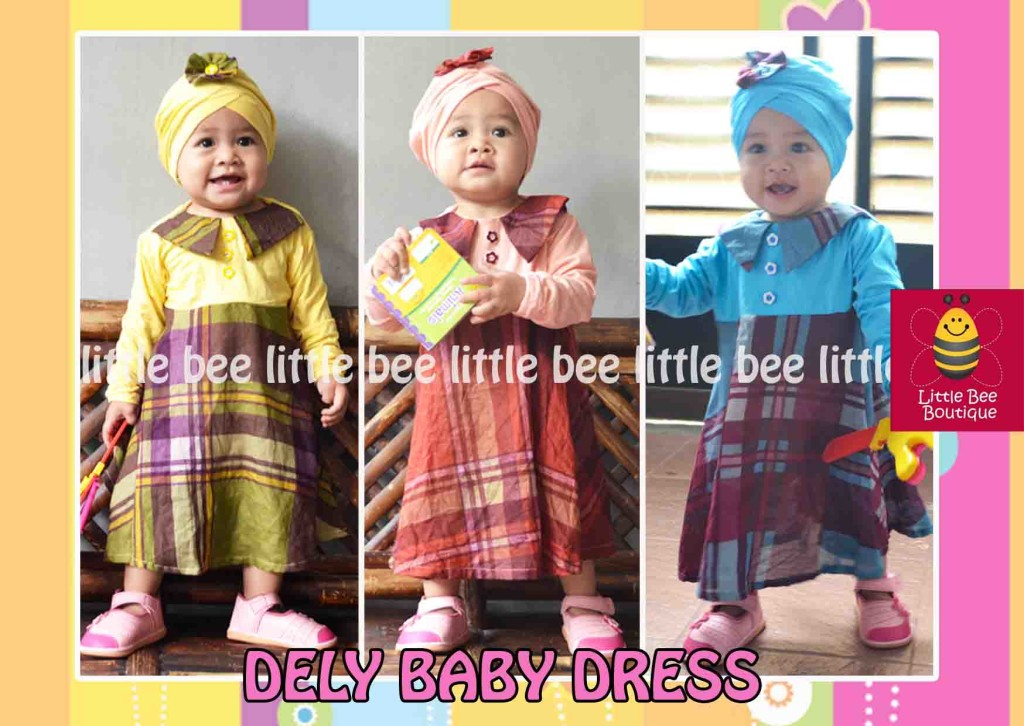 Baju Anak Dely Baby Dress
