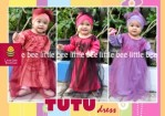 Baju Muslim Anak Tutu Little Bee