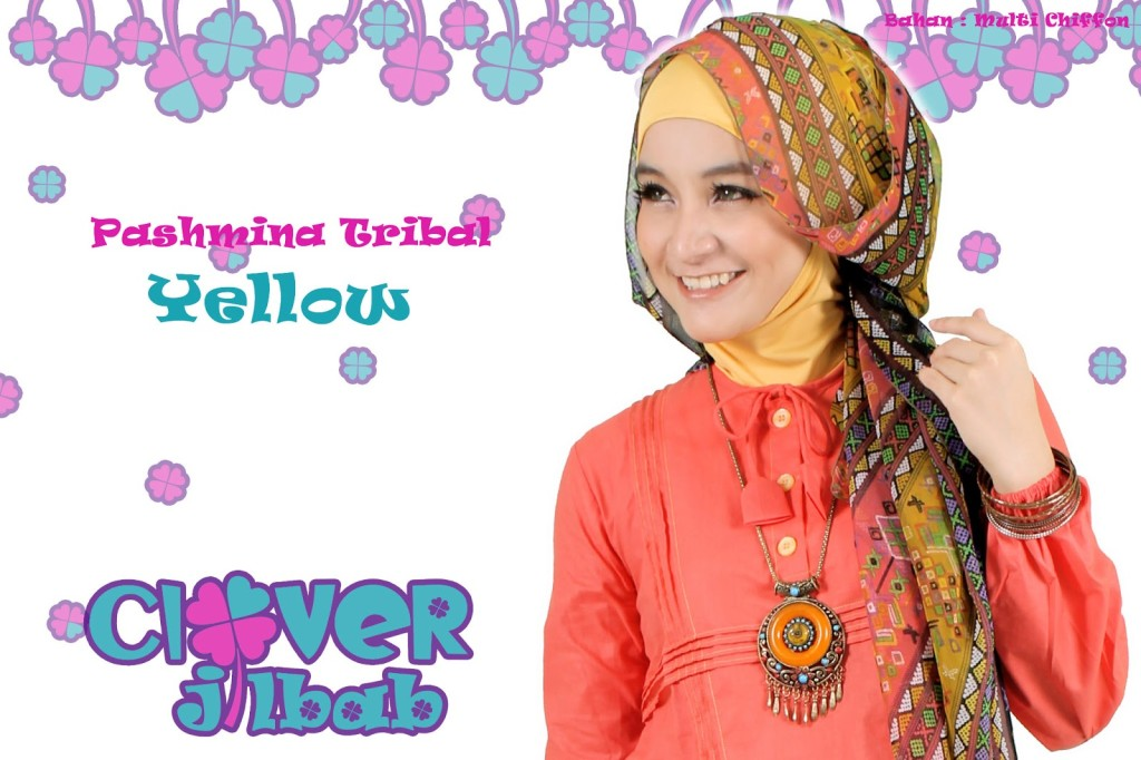 jilbab-pashmina-tribal-yellow