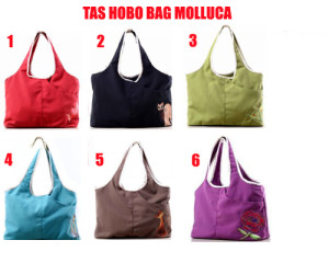 Tas Hobo Bag Molluca