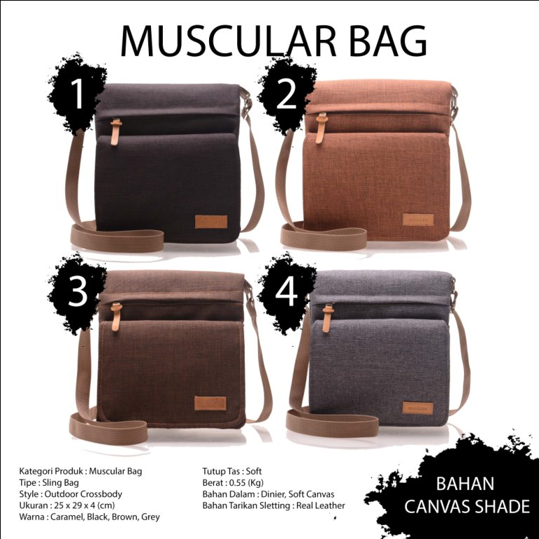 tas hoozler muscular canvas