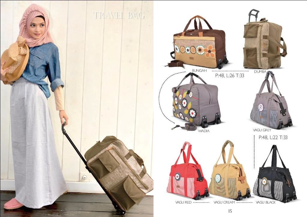 Tas Travel Bag maika 2016