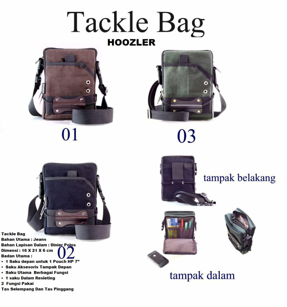 hoozler tackle bag