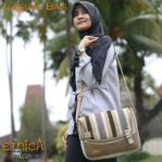 Tas Casual Etnica Brown Mitica